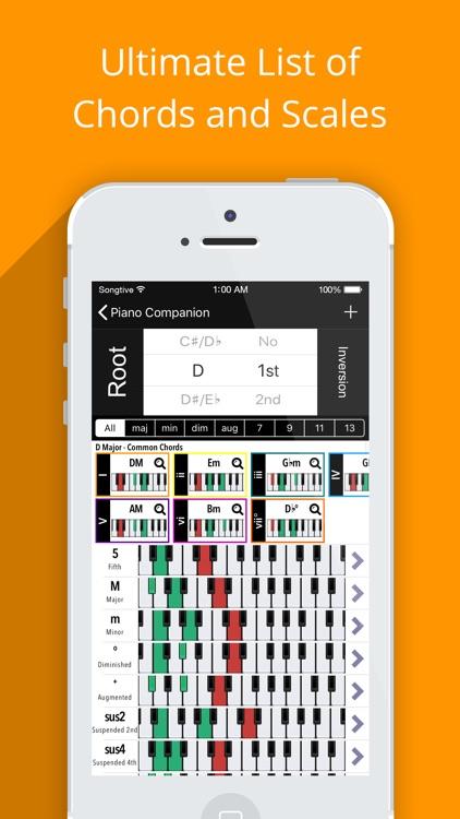 Piano Chords Companion PRO screenshot-3