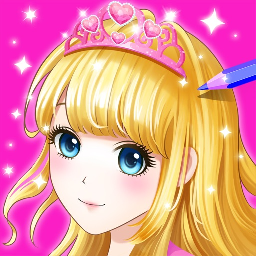 Princess Coloring Book Show
