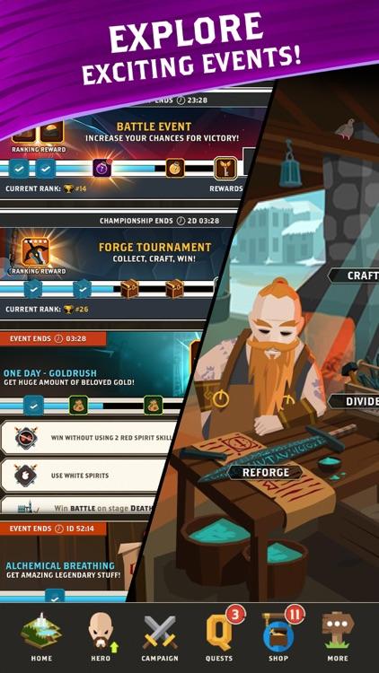 Questland RPG: Guilds & Heroes screenshot-6