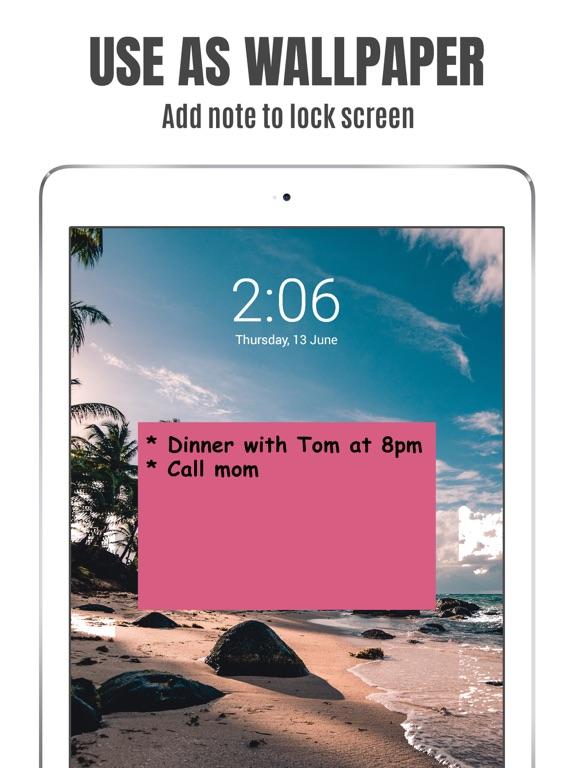 StickMe Notes Sticky Notes App screenshot