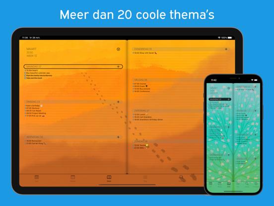 PaperCal iPad app afbeelding 4