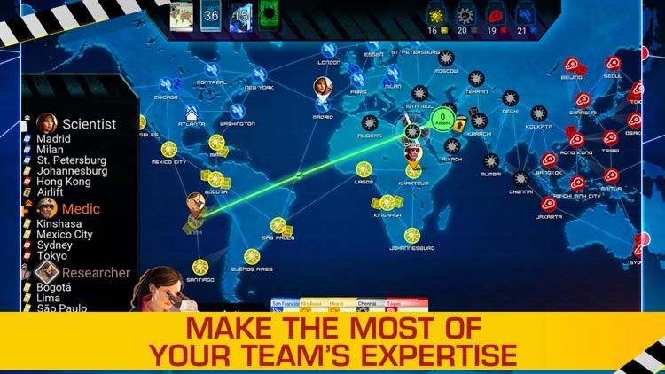 Pandemic: The Board Game screenshot-5