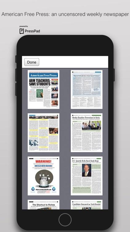 American Free Press screenshot-3