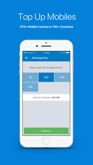 Topup com - Easy mobile top up on the App Store