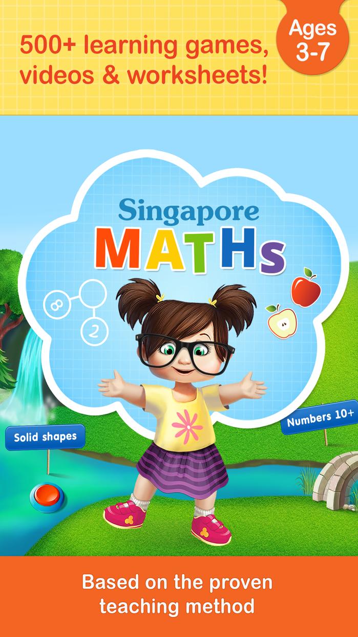 Singapore math games for kids Screenshot