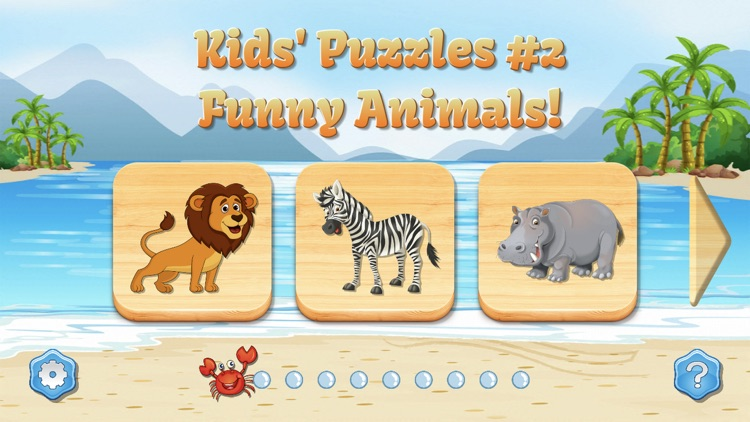 Kids Puzzles game for toddlers screenshot-0