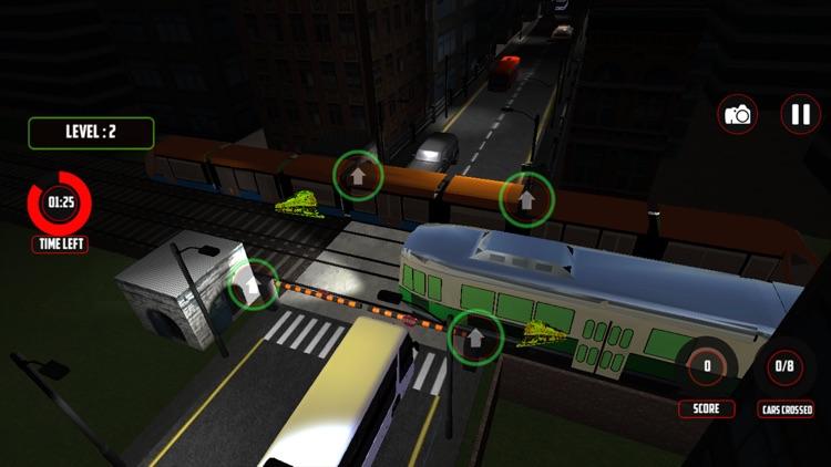 Railroad Crossing Train Sim 3D