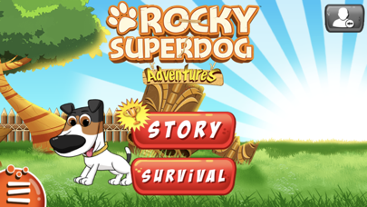 Rocky Superdog Adventures screenshot one