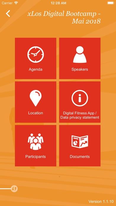 PwC EventAppScreenshot von 2