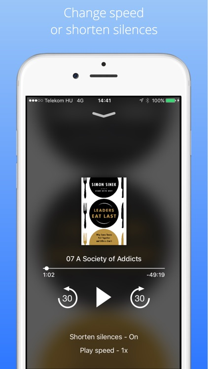 Audiobook Player SmartBook screenshot-3