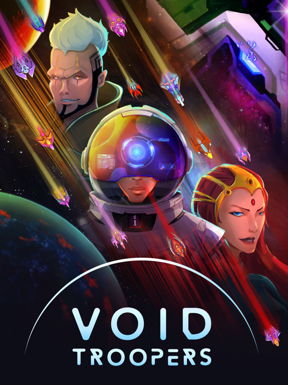 Void Troopers : Sci-fi Tapper screenshot 12