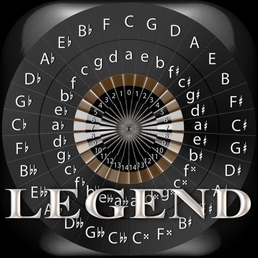 Circle of 5ths Legend