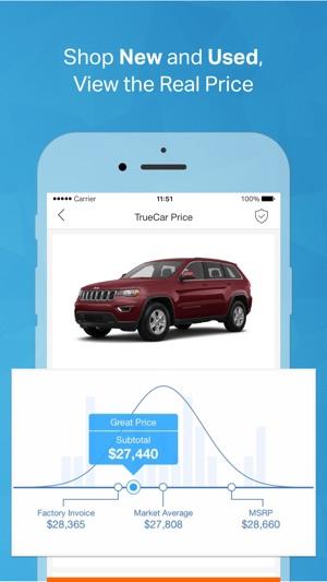 TrueCar The Car Buying App On The App Store - True price cars invoice