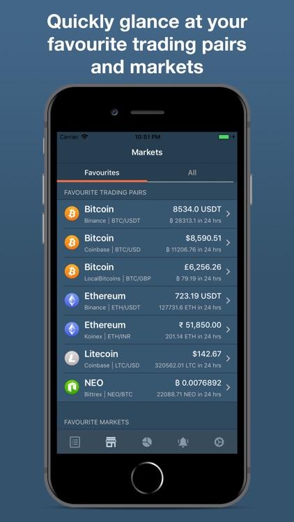 Cryptare: Crypto Portfolio screenshot-5