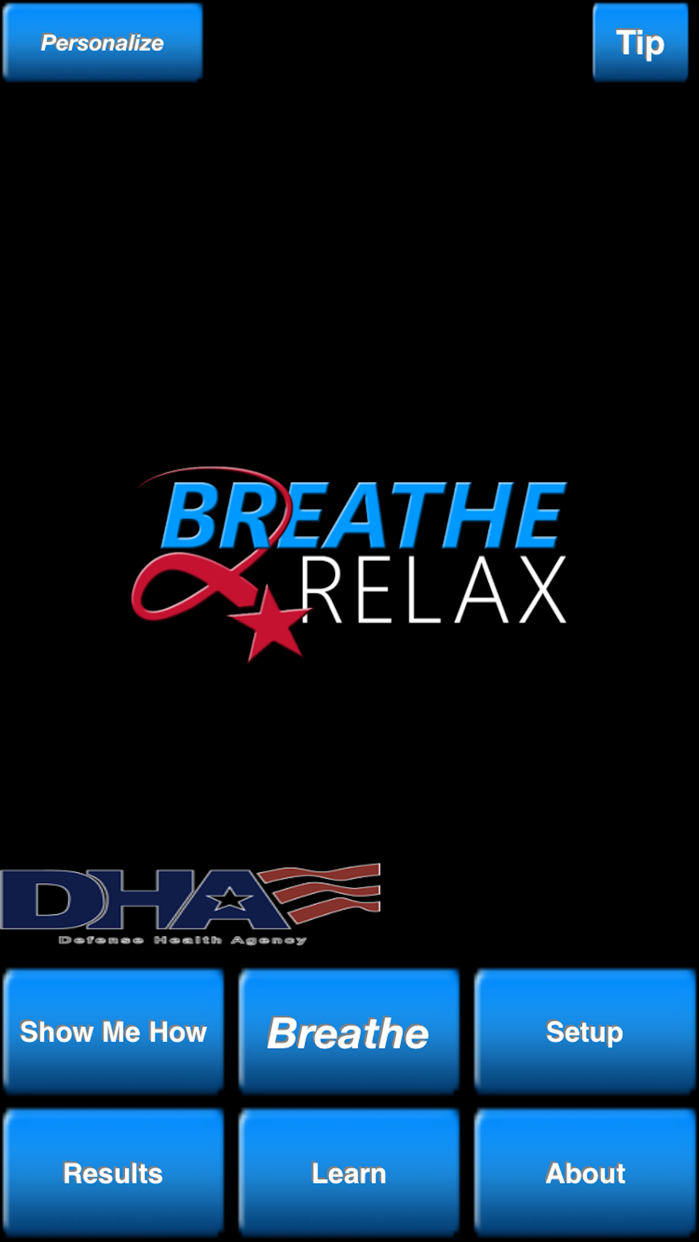 Breathe2Relax Screenshot