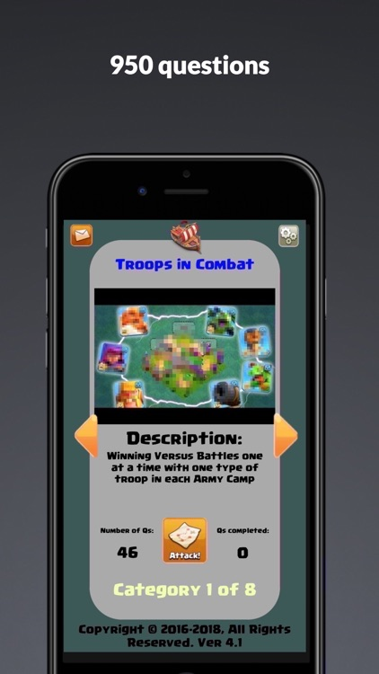 Trivia Game for Clash of Clans