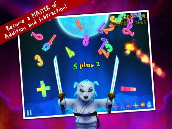 Ice Math Ninja - PREMIUM Screenshots