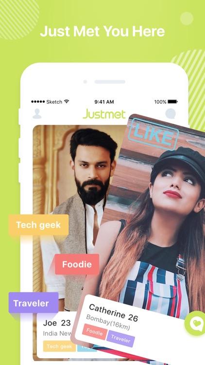 Justmet-Social&Dating App