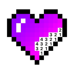 Pixel Color by Number Game