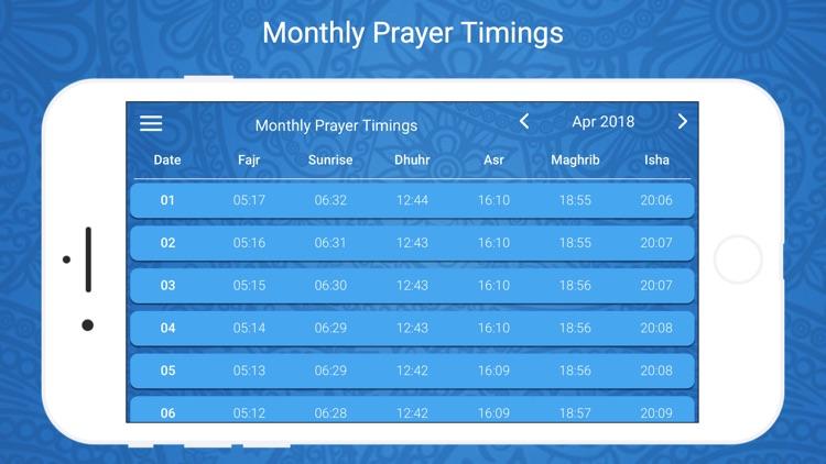 Ramadan Times 2019 PRO screenshot-5