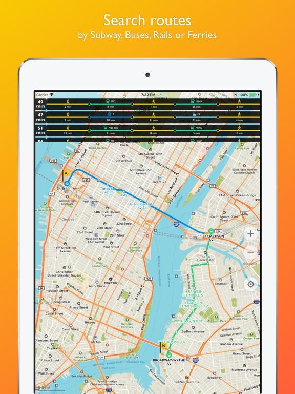 New York City map offline Screenshots