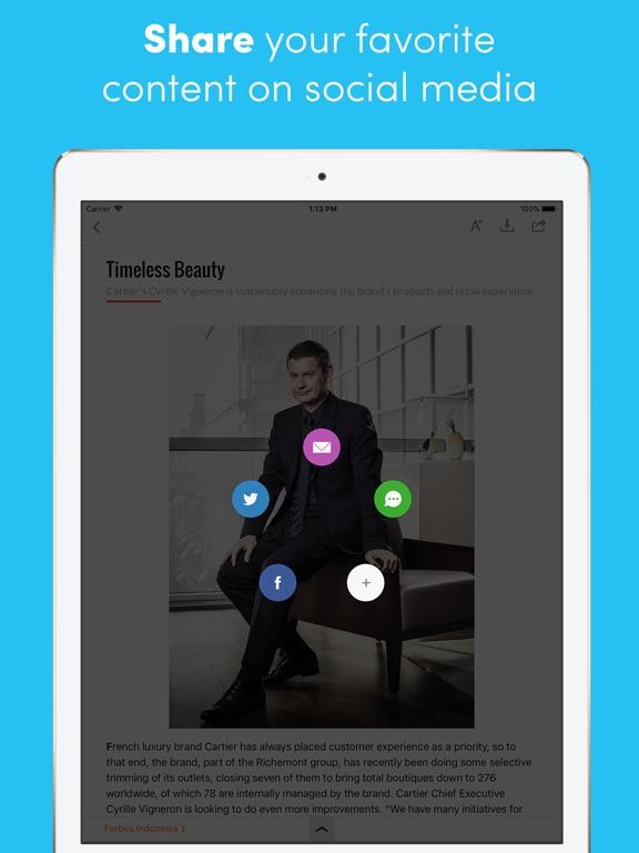 Forbes Indonesia iPad