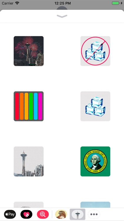 Seattle Stickies for iMessage