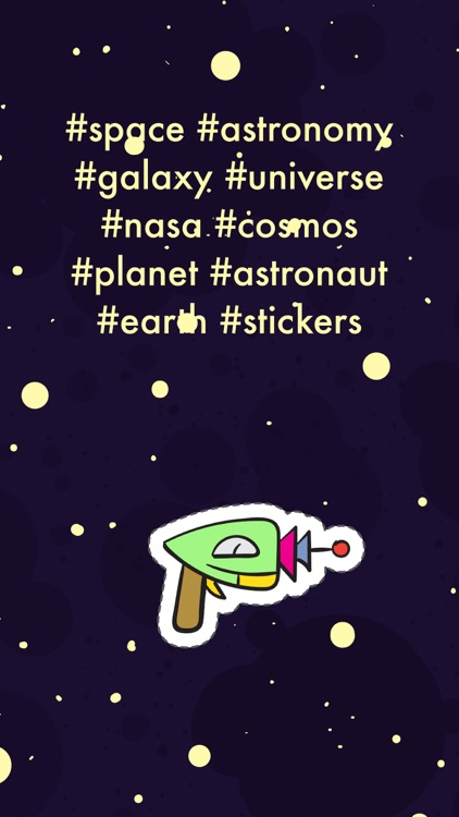Space Stickers Pro