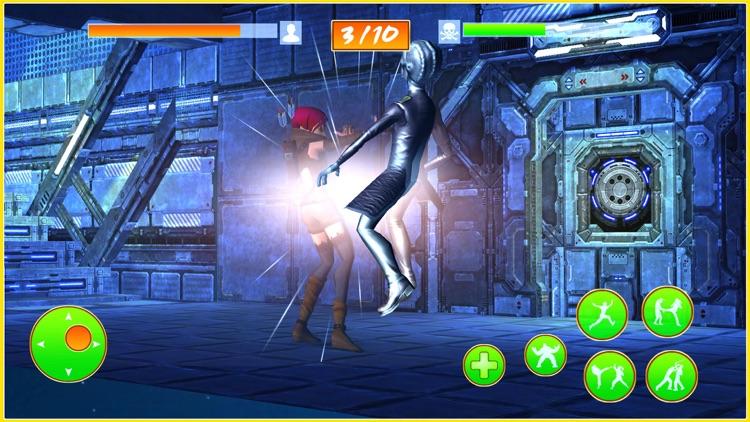 Rogue Female Fighter 3D screenshot-3