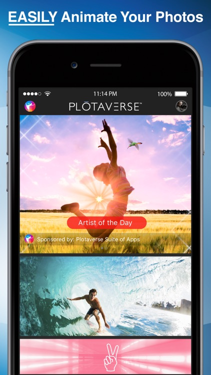 PLOTAVERSE•Create Your Reality screenshot-0