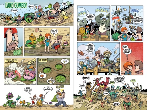 Plants Vs Zombies Volume 10 Rumble At Lake Gumbo By Paul Tobin