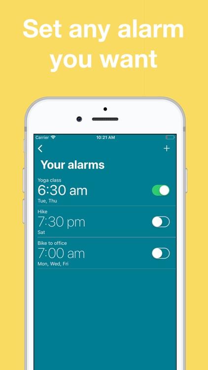Alarm Clock: Shake to Wake
