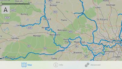 Open Canal Map UK screenshot four