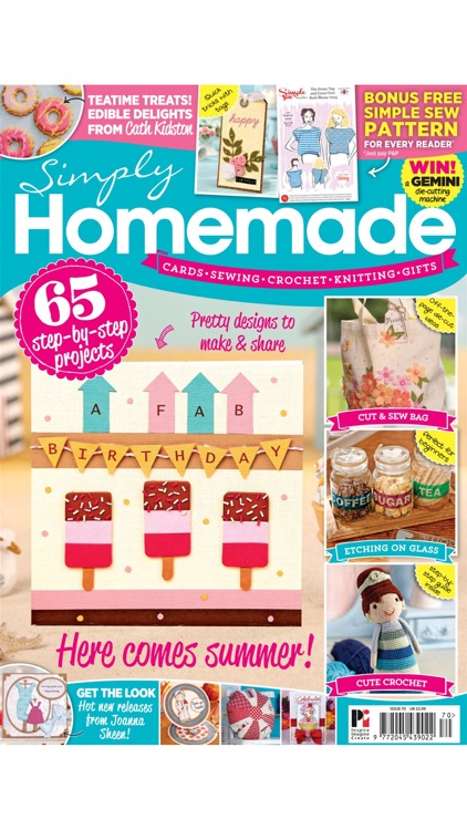 Simply Homemade magazine