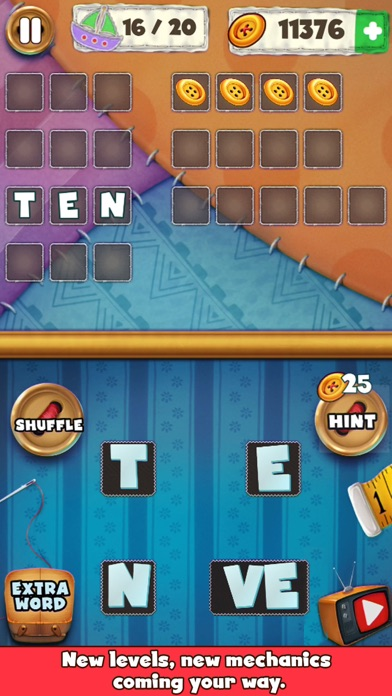 Patch Words - Word Puzzle Game screenshot two