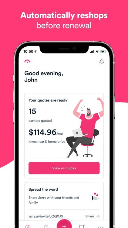 Jerry: Car Insurance Savings screenshot-5