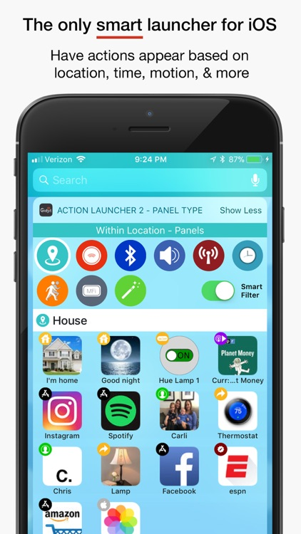 Gidjit - Smart Launcher screenshot-1
