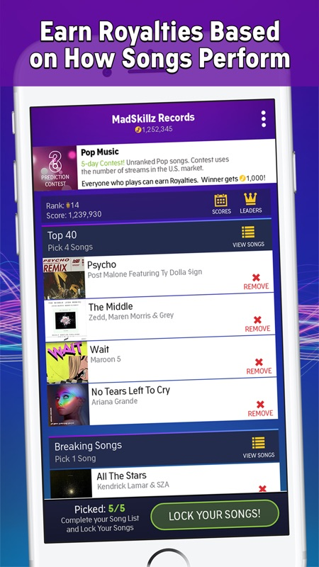 FanLabel: Daily Music Contests - Online Game Hack and Cheat