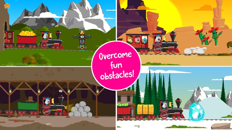 Comomola Far West Train screenshot-4