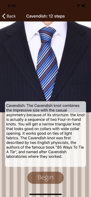 Tie a necktie 3d animated on the app store ccuart Gallery