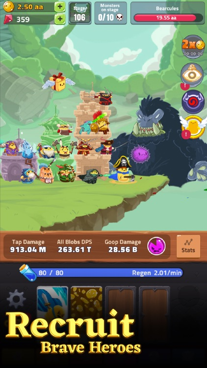 Hopeless Heroes: Tap Attack screenshot-4