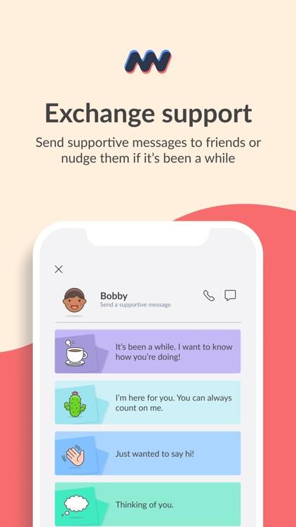 Moodwave - Support Network screenshot-3