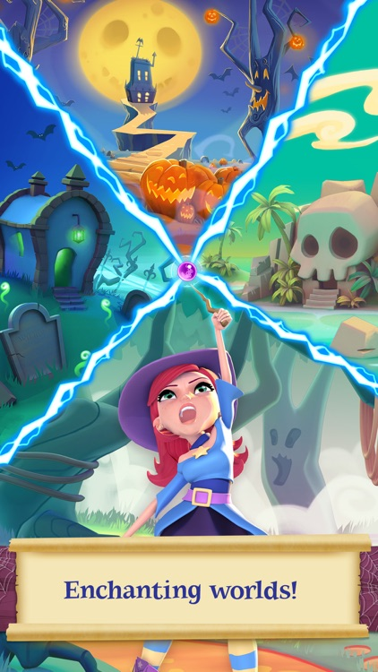 Bubble Witch 2 Saga screenshot-2