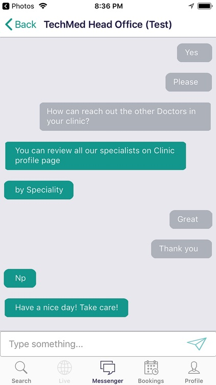 TechMed Medical Booking