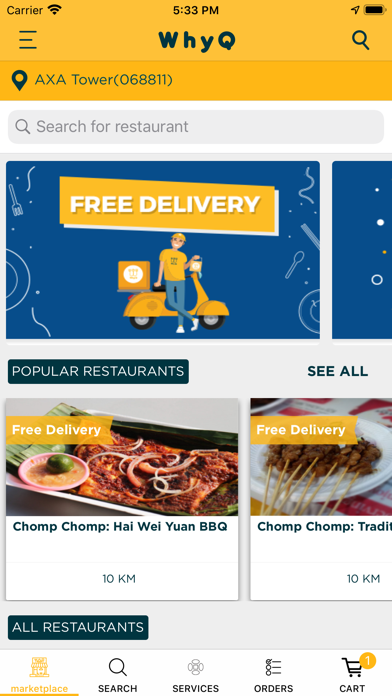 WhyQ Hawker DeliveryScreenshot of 4