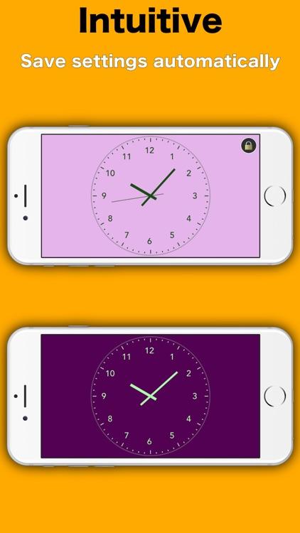 Simply Clock - Analog screenshot-4