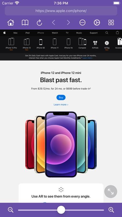 Zoomable - Desktop Browser screenshot-5