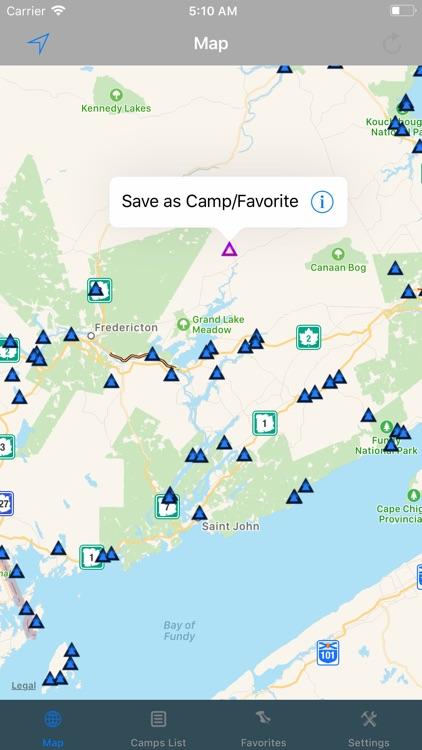 New Brunswick – Camping & RV's screenshot-3