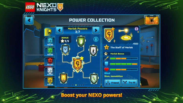 LEGO® NEXO KNIGHTS™:MERLOK 2.0 screenshot-1