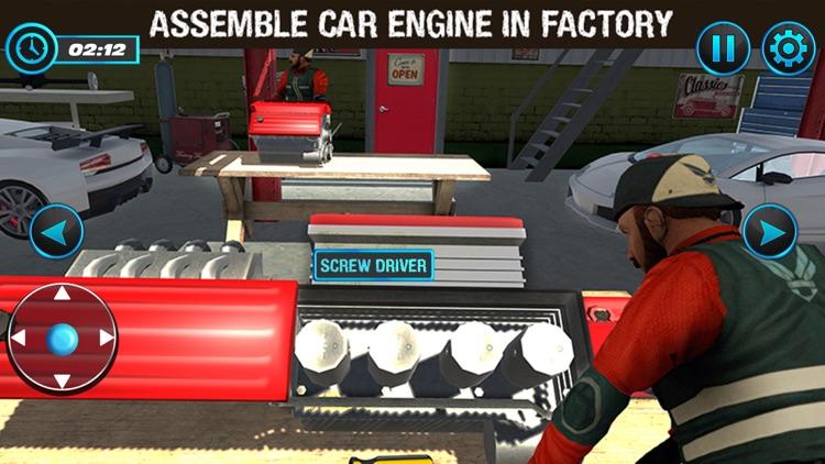Car Factory 3D - Garage World screenshot-4